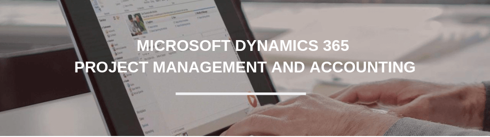 Dynamics 365 Project Management and Accounting training